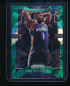 Scan of 2019-20 Panini 248 ZION WILLIAMSON NM-MT+