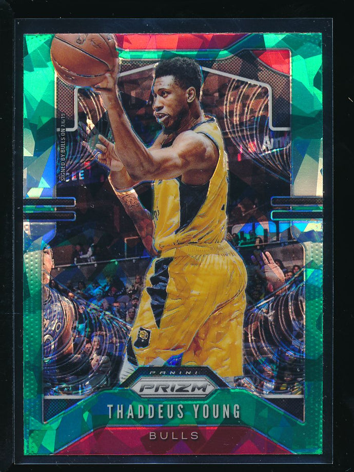 Scan of 2019-20 Panini 217 Thaddeus Young NM-MT+ or better