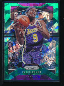 Scan of 2019-20 Panini 223 Rajon Rondo NM-MT+ or better