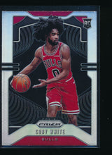 Load image into Gallery viewer, Scan of 2019-20 Panini Prizm 253 COBY WHITE