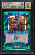 Load image into Gallery viewer, Scan of 2019-20 Panini Prizm  RJ BARRETT BGS 9.5/10 GEM MINT