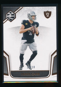 Scan of 2019 Limited  Derek Carr
