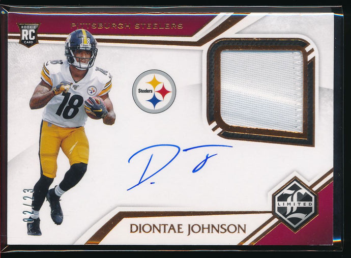 Scan of 2019 Limited  Diontae Johnson