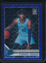 Load image into Gallery viewer, Scan of 2019-20 Donruss Optic 168 JA MORANT Pack-Fresh