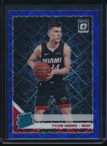 Scan of 2019-20 Donruss Optic 172 TYLER HERRO Pack-Fresh