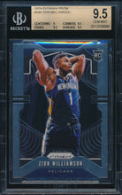 Load image into Gallery viewer, Scan of 2019-20 Panini Prizm 248 ZION WILLIAMSON SGC 9.5 GEM MINT