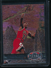 Load image into Gallery viewer, Scan of 1997-98 Metal Universe 83 Scottie Pippen