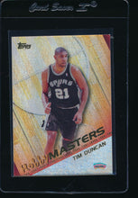 Load image into Gallery viewer, Scan of 2000-01 Topps HM3 Tim Duncan
