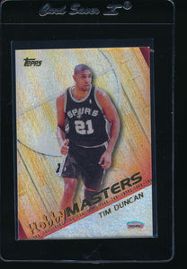 Scan of 2000-01 Topps HM3 Tim Duncan
