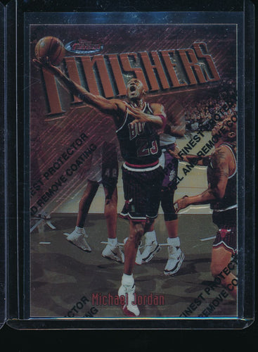 Scan of 1997-98 Topps  Michael Jordan