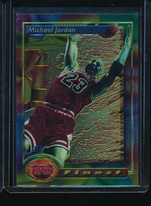 Scan of 1993-94 Topps 1 Michael Jordan