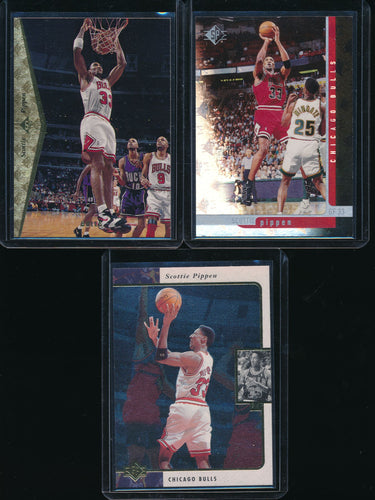Scan of 1995 1996 1997-98 Upper Deck  Scottie Pippen