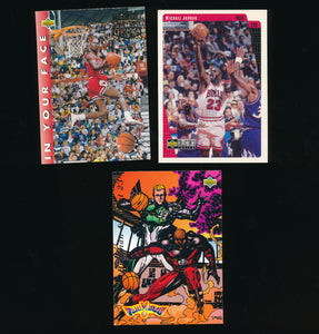 Scan of 1990s Upper Deck  Michael Jordan