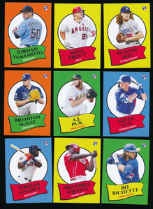 Scan of 2020 Topps  Complete Set