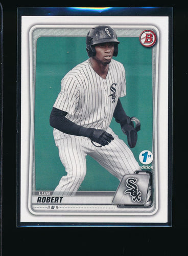 Scan of 2020 Bowman BFE-150 Luis Robert NM-MT+