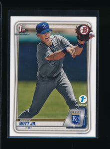 Scan of 2020 Bowman BFE-25 Bobby Witt Jr NM-MT