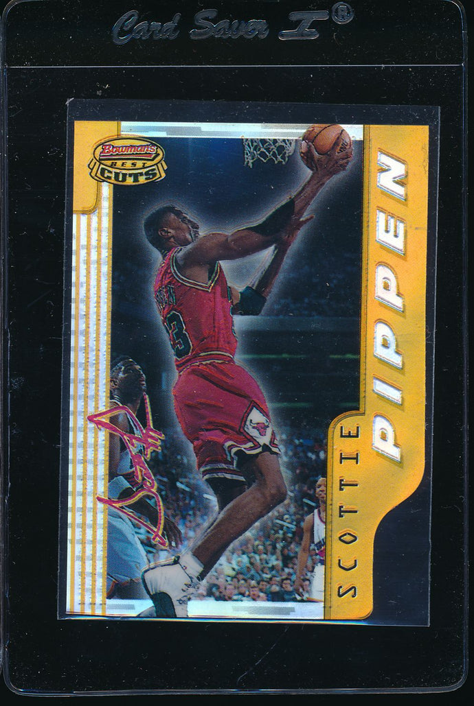 1997-98 Bowman's Best Cuts  Scottie Pippen Refractor   14680