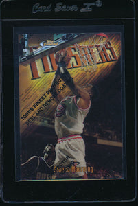 Scan of 1997-98 Topps Finest  Alonzo Mourning