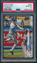 Load image into Gallery viewer, Scan of 2020 Topps 292 GAVIN LUX PSA 10 GEM MINT