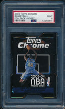 Load image into Gallery viewer, Scan of 2003-04 Topps Chrome  Foil Pack - Hobby PSA 9 MINT
