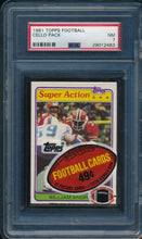 Load image into Gallery viewer, Scan of 1981 Topps  Cello Pack PSA 7 NM