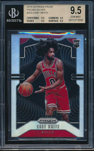 Scan of 2019-20 Panini Prizm 253 COBY WHITE BGS 9.5 GEM MINT