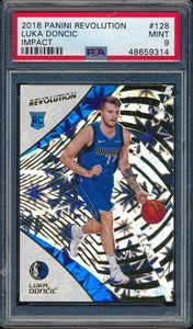 Scan of 2018-19 Panini Revolution 128 LUKA DONCIC PSA 9 MINT