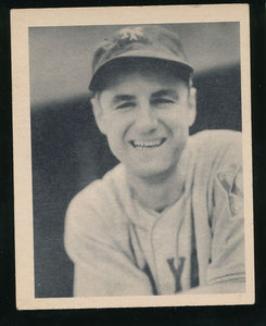 Scan of 1939 Play Ball 35 Bill Jurges VG-EX