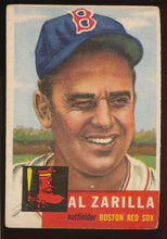 Load image into Gallery viewer, Scan of 1953 Topps 181 Al Zarilla VG