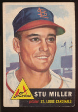 Load image into Gallery viewer, Scan of 1953 Topps 183 Stu Miller G/VG