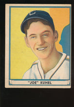 Load image into Gallery viewer, Scan of 1941 Play Ball 31  Joe Kuhel VG-EX