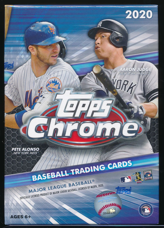 Scan of 2020 Topps Baseball Blaster Box Unopened