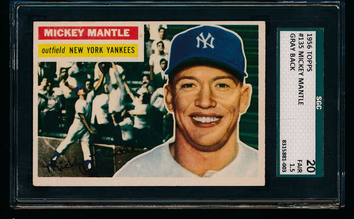 Post-WWII Mini-Mixer Break featuring 1956 Topps Mickey Mantle (limit 1 per person)