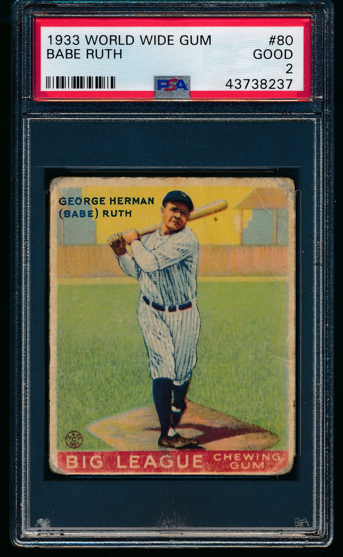 Pre-WWII Mega Mixer Break featuring a 1933 Babe Ruth PSA 2 (Limit 11)