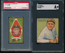Load image into Gallery viewer, Pre-WWII Mixer Break featuring Babe Ruth and Ty Cobb