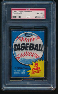 1980 Topps Baseball Wax Pack Group Break (15 Card Break) #2