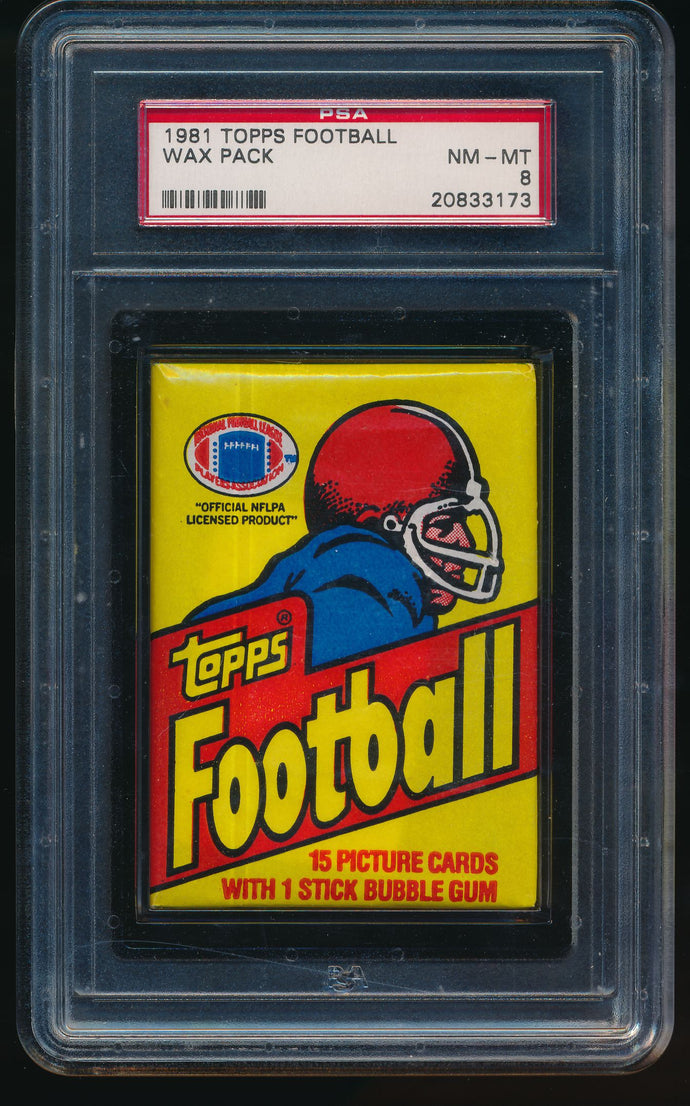 1981 Topps Football Wax Pack Group Break (15 Spot Break) #3