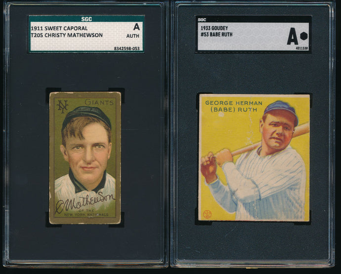 Pre-WWII Mega Mixer Break featuring Babe Ruth and Christy Mathewson