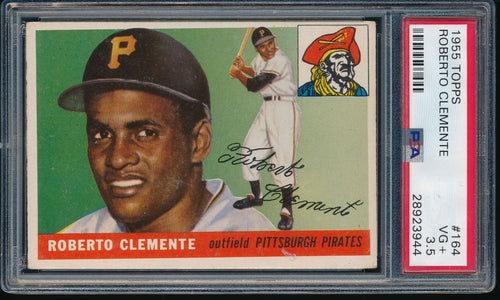 Post-WWII Mixer Break featuring 1955 Topps Clemente PSA 3.5 (50 spots - LIMIT 5)