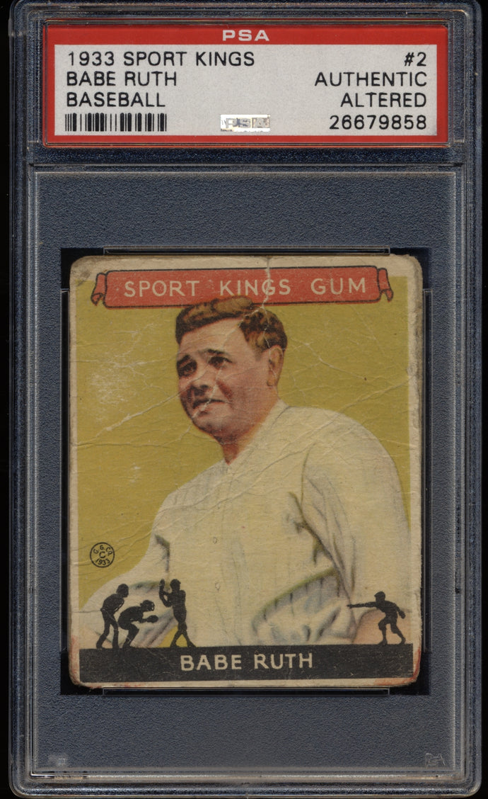 Pre-WWII Mixer (100 spots) featuring '33 Ruth & T201 Cobb (LIMIT 3)