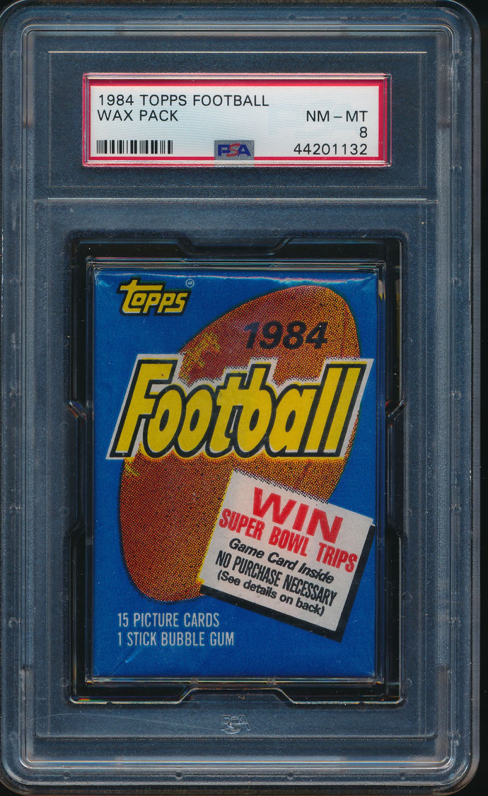 1984 Topps Football Wax Pack Group Break (15 Spots) #4