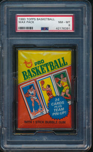 1980-81 Topps Basketball Wax Pack (8 Spot Break) #3