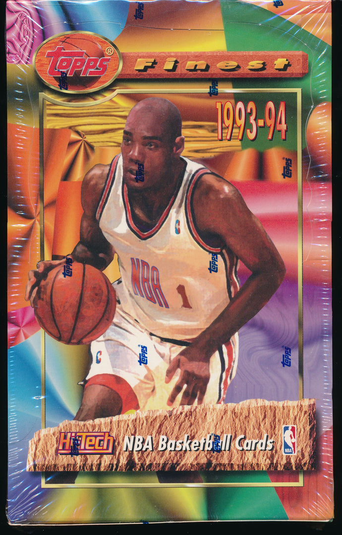 1993-94 Topps Finest Basketball Box Group Break (24 spots)
