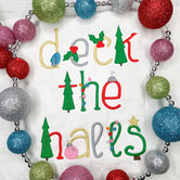 Christmas Font - Deck the Halls