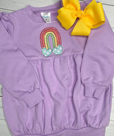 Rainbow Heart Applique