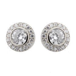 Isobel Silver Stud Earrings