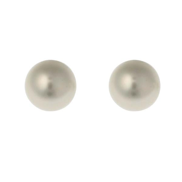 Classic White Pearl Stud Earrings