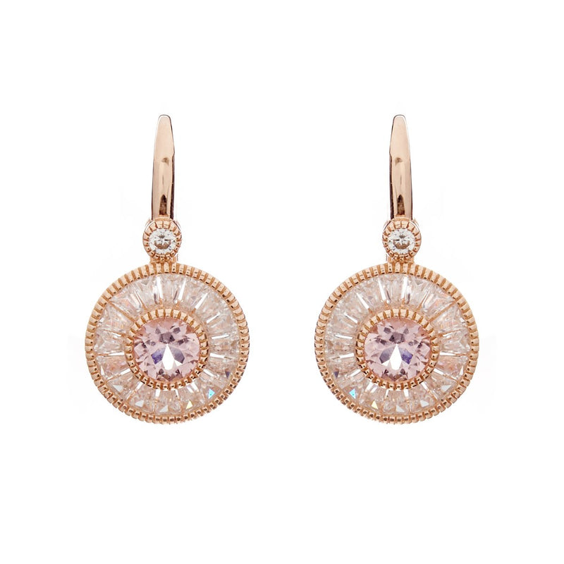 Mia Rose Gold Earrings