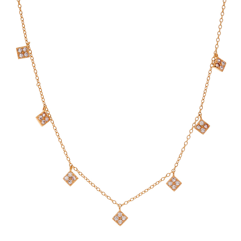 Chloe Rose Gold Necklace