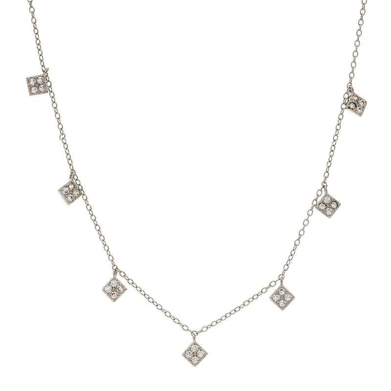 Chloe Silver Necklace